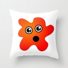 Surprised Spot Throw Pillow