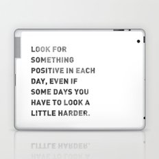 Look For Something Positive Laptop & iPad Skin