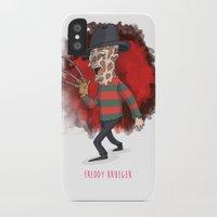freddy krueger iPhone & iPod Cases featuring 26 - Freddy krueger by Jomp