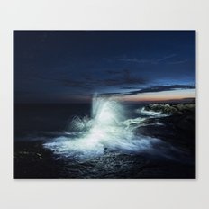 Rise in Twilight Canvas Print