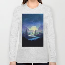 Touching the Stars Long Sleeve T-shirt