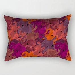 Octopattern Rectangular Pillow