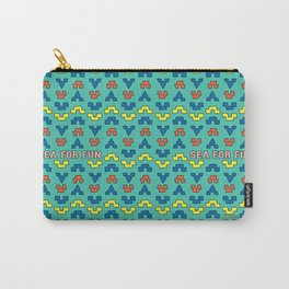 Sea for fun (green) Carry-All Pouch