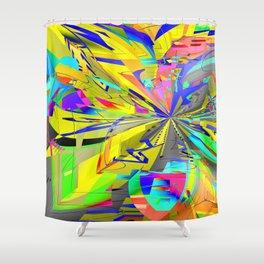 Pinch-Point Shower Curtain
