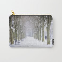 Winter scenery in Princeton II Carry-All Pouch