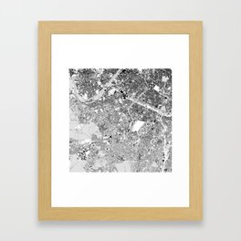 paris lhs-bot Framed Art Print