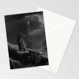 March of the Necromancer Stationery Cards