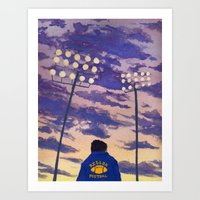 friday night lights Art Prints featuring Friday Night Lights by colleentighe