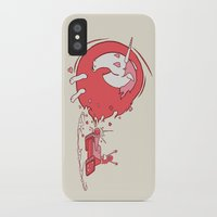 girl power iPhone & iPod Cases featuring Girl Power by Chris Moran