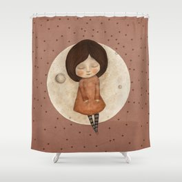 Moon Song 4 Shower Curtain