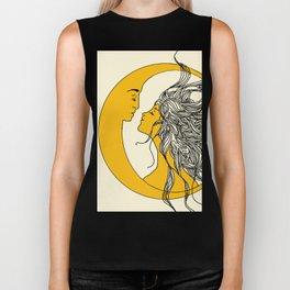 Sun and Moon Biker Tank