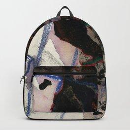 Cliffhanger Ink Drawing Backpack