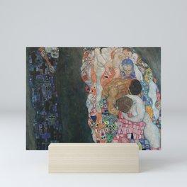 Life and Death - Gustav Klimt Mini Art Print