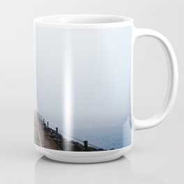 Into the Abyss - Chasing Fog on Lake Superior Coffee Mug