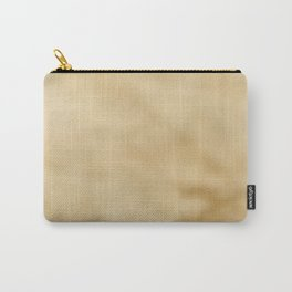 Pale Mottled Champagne Foil Carry-All Pouch