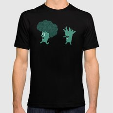 So Many Brains! SMALL Black Mens Fitted Tee
