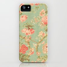 Vintage Flowers - for iphone iPhone (5, 5s) Slim Case