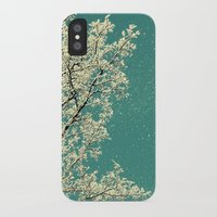 snow iPhone & iPod Cases featuring snow by Claudia Drossert