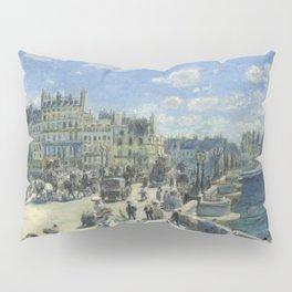 Auguste Renoir Pont Neuf, Paris 1872 Painting Pillow Sham