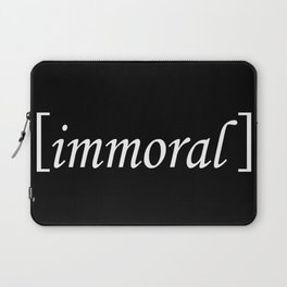 Immoral Laptop Sleeve