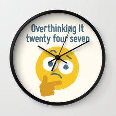 Leave Dwell Enough Alone Wall Clock