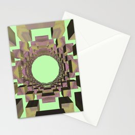 Random 3D No. 240 Stationery Cards