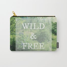 Run Wild Free Spirit | Nature Photograph Carry-All Pouch