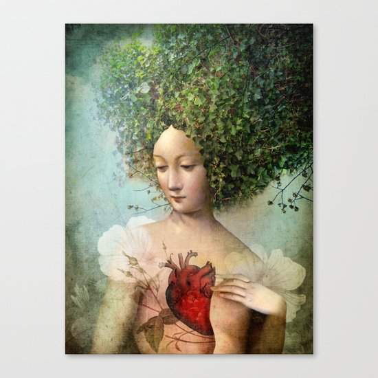 The Day I lost my Heart Canvas Print
