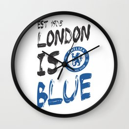 Chelsea FC The Blues Wall Clock
