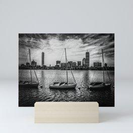 Back Bay Mini Art Print