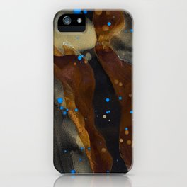 joelarmstrong_rust&gold_048 iPhone Case