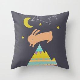 The Mountaineer Throw Pillow