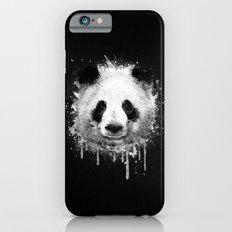Cool Abstract Graffiti Watercolor Panda Portrait in Black & White  Slim Case iPhone 6s