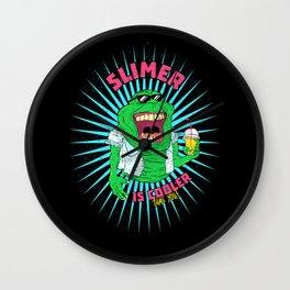 Trendy Slimer Wall Clock