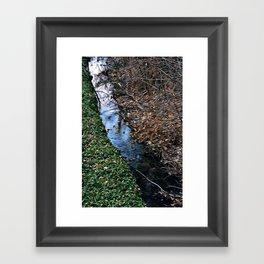Brook Framed Art Print