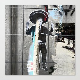Summer space, smelting selves, simmer shimmers. [extra, 3] Canvas Print