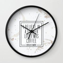 Gilmore Coffee Wall Clock
