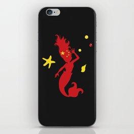 Chinese Mermaid iPhone Skin