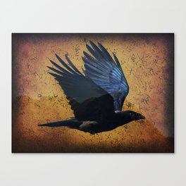 Raven's Mountain Art Print Canvas Print