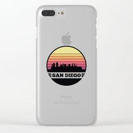 San Diego Skyline Clear iPhone Case