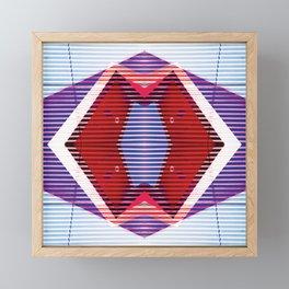 Abstract Shapes 17 Framed Mini Art Print