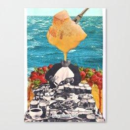HOW TO MICROWAVE NACHOS Canvas Print