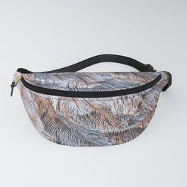 Feather Plumage Fanny Pack