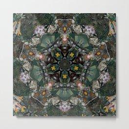 Multifacetted Kaleidoscope 4 Metal Print
