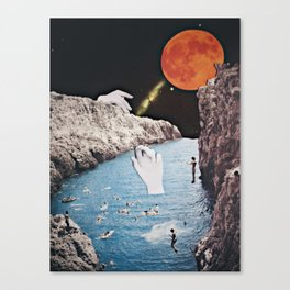 Remembering the SuperMoon Canvas Print
