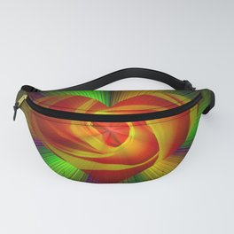 Abstract in perfection - Rose Fanny Pack