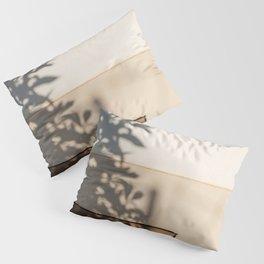Shadow House Facade Pillow Sham