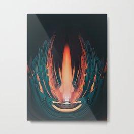 Clash Metal Print