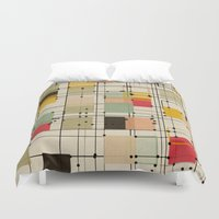 bedding Duvet Covers featuring embrace uncertainty by spinL