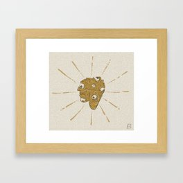 Mutant Eye Clump Framed Art Print